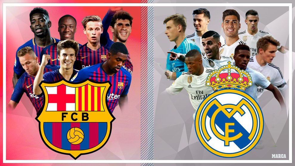 Clash Of The Titans ( Rivalry At It's Best), El Clasico ( Barcelona Vs Real Madrid)