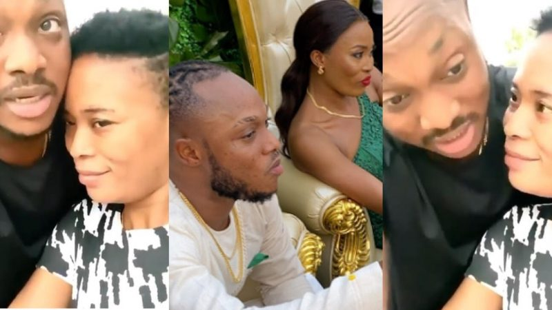 People Always Text My Wife To Spoil Me And Destroy My Marriage – Keche Andrew Sadly Reveals (+video)