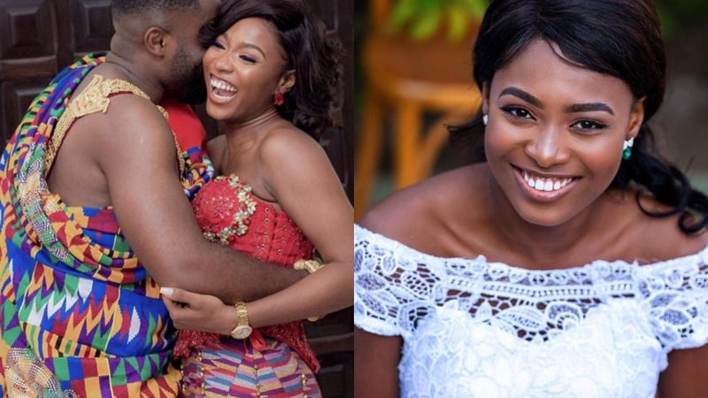 Fans Conclude Kennedy Osei's Wife, Tracy Is Pregnant After Being Missing In Action At CIRI2020