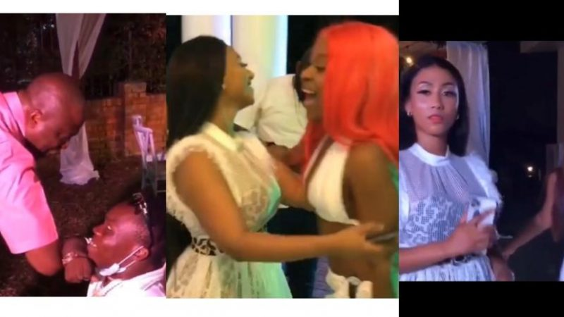 Fun Moments At Hajia4Real's Birthday Party With Shatta Bandle, Ibrahim Maham, Efia Odo, Sister Derby, And Other Celebrities