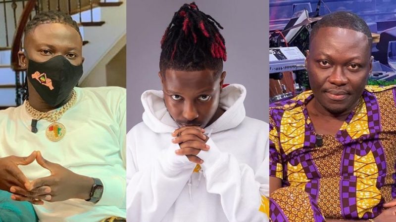 Stonebwoy Painfully And Passionately Addresses Kelvyn Boy's Accusations, Clashes Arnold Baidoo In The Process