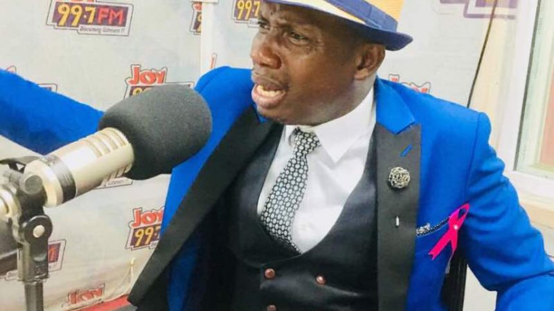 Counselor Lutterodt Reacts To Petition To Ban Him – Says He Works In The Spirit (Video)