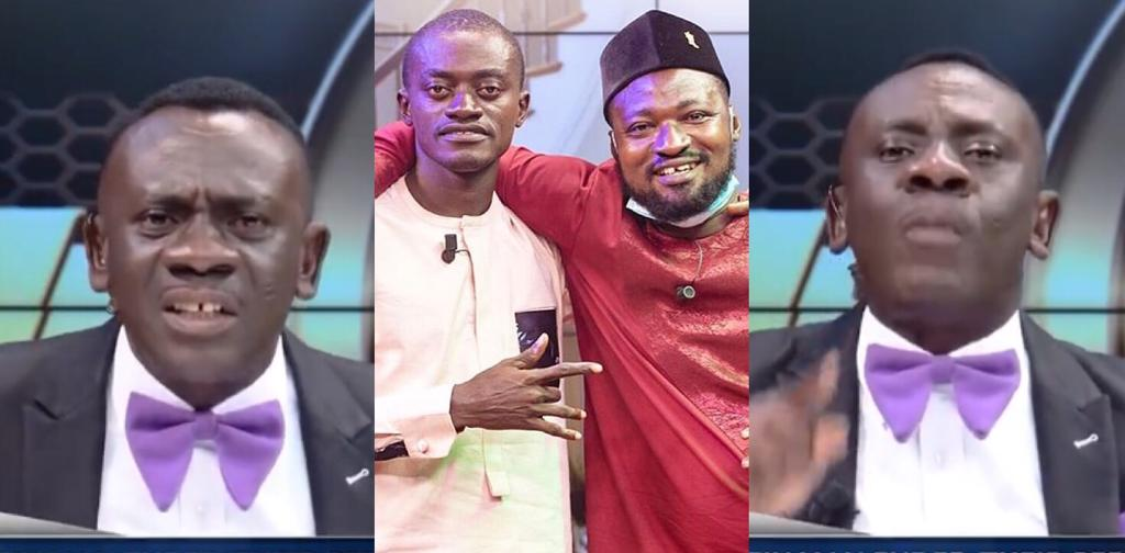 Akrobeto Strikes On Funny Face And Lil Win Hilariously For Fighting On TV, Dares Funny Face To Face Him