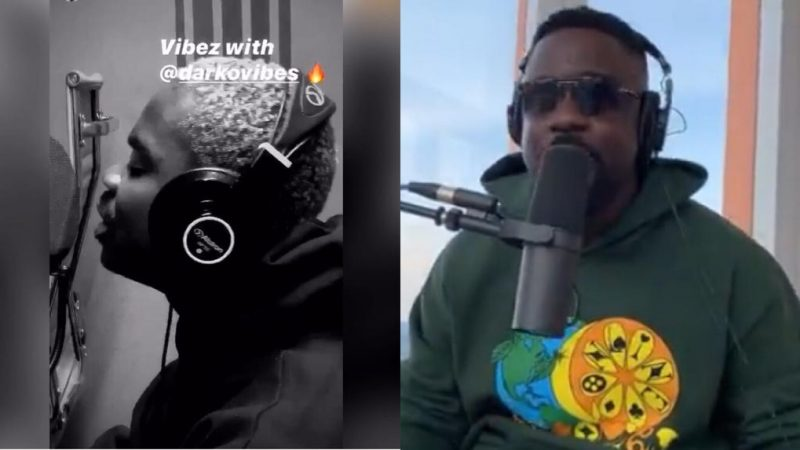 Sarkodie Shares Video Of Studio Time With Darkovibes As They Prepare To Bring Ghanaians Another Banger