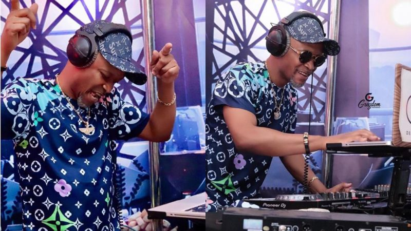 Photos Of Fadda Dickson Displaying His DJ Skills Is Just Adorable And Dope