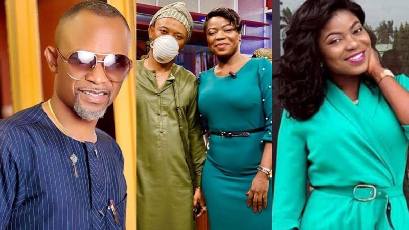 A True Leader – Fadda Dickson's Reply To Afia Pokua Vim Lady For Wishing To Be Like Him Is Just Heartwarming
