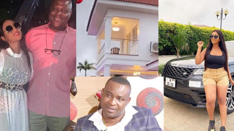 Ibrahim Mahama Alleged By Chairman Wontumi To Be The One Who Bought The House And Range Rover For Hajia4Real