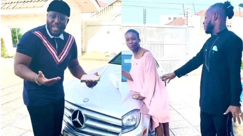 Support Your Own – Keche Andrew And Wife Show Love To Coded Of 4X4, By Supporting His New Company