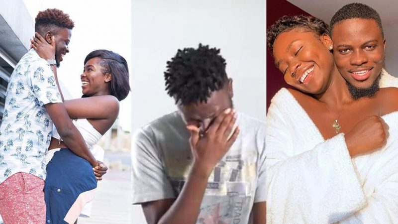 Popular YouTube Ghanaian Couple Kiki And Jay Break Up With A Text Message; Guy Shares Sad Story