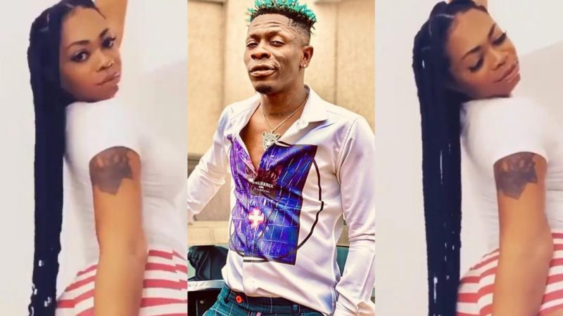 Mitchy On A Mission To Tempt Shatta Wale To Ask For A Comeback With Her Uplifted Backside Video
