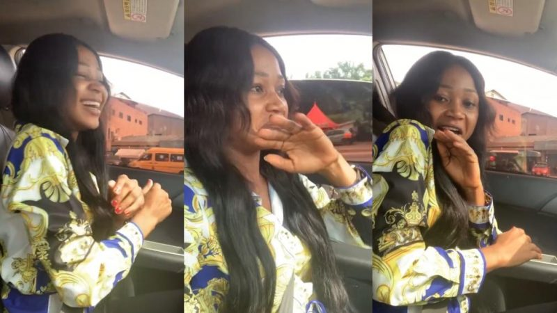 Akuapem Poloo In A Happy Mood This Morning After Allegedly Being Arrested Yesterday