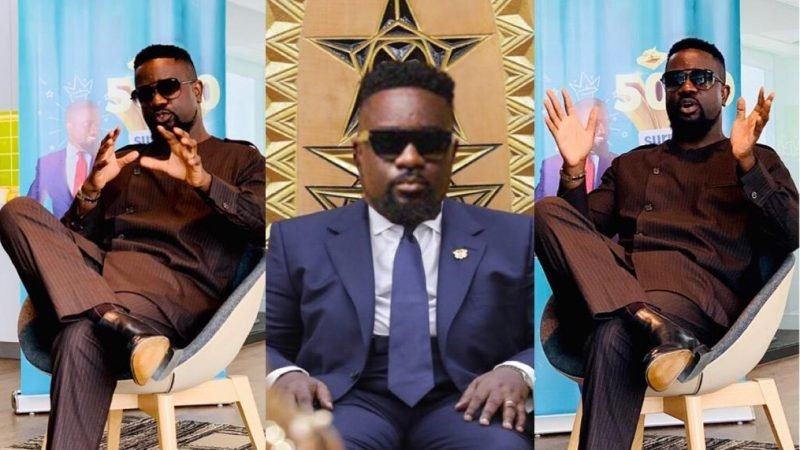 Sarkodie Announces Presidential Intentions In 2024