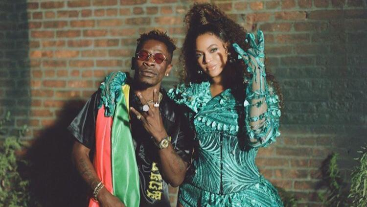 Shatta Wale Finally Shares Photo Of Him And Beyonce With A Powerful Message