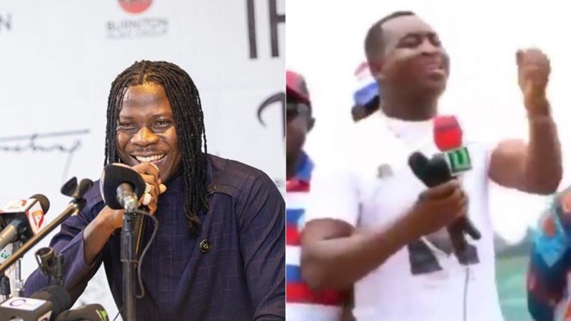 Bet You Didn't Know Stonebwoy Was This Funny, Check Out His Post About Chairman Wotumi's Viral Video