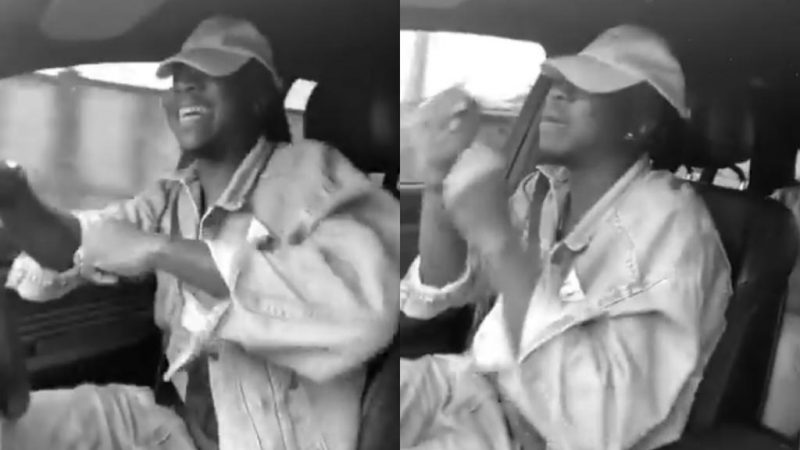 Stonebwoy Jams To His Yet To Be Released Song, 'Putu Freestyle' In A Very Happy Mood
