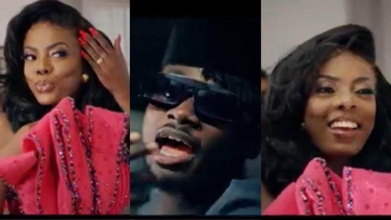 Nana Aba Anamoah Does Marvelous As A Video Vixen For The First Time In Kuami Eugene's Video
