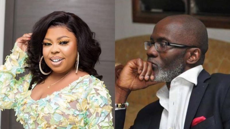 A Lady Is Allgedly Using GabBy Otchere Darko's Name To Blackmail NDC, Afia Shwarzenegger Hints On Possible Scandal