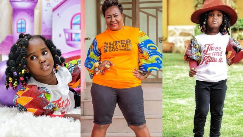 Stunning Photos From Gifty Anti's Daughter's 3 Years Birthday Celebration (More Photos)