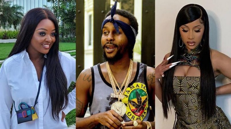 Pop Caan Can't Get Over Jackie Appiah As He Puts Her On The Same Level With Cardi B And Other Top American Stars