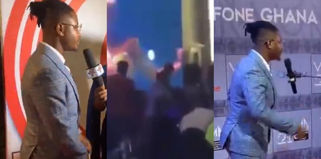 Kelvyn Boy Walks Out VGMA Auditorium Angrily And This Is Why (+video)