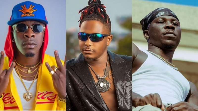 Kelvyn Boy Teases By Passing Savage Comment About Stonebwoy And Shatta Wale Clash