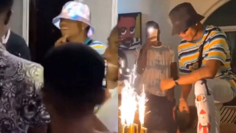 Kidi Overwhelmed With At His Surprise Birthday Party Yesterday (video)