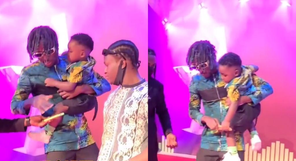 Kofi Mole And Son Rock Vgma Red Carpet In Style With Their Twin Dressing Video Anythinggh