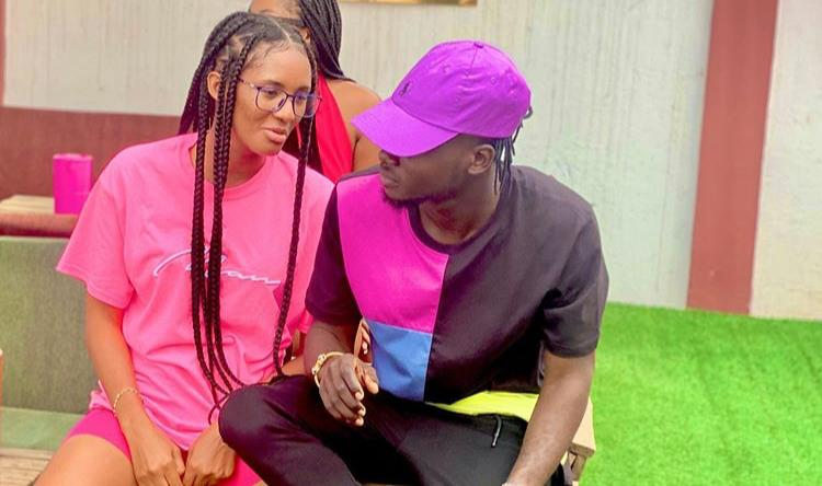 Kuami Eugene And Girlfriend In A Cozy Pose As Their Hang Out Photo Pop Online