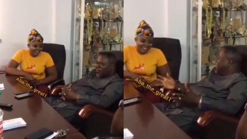Dr. Kweku Oteng Puts On Display His Awards During A Meeting In His Executive Office (Video)