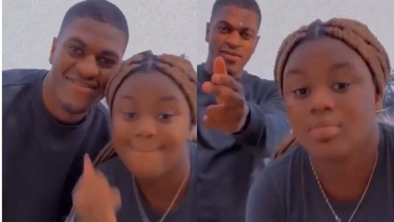 Ex President Mahama's Son And Daughter Having The Best Of Time While Daddy Is Away (Video)
