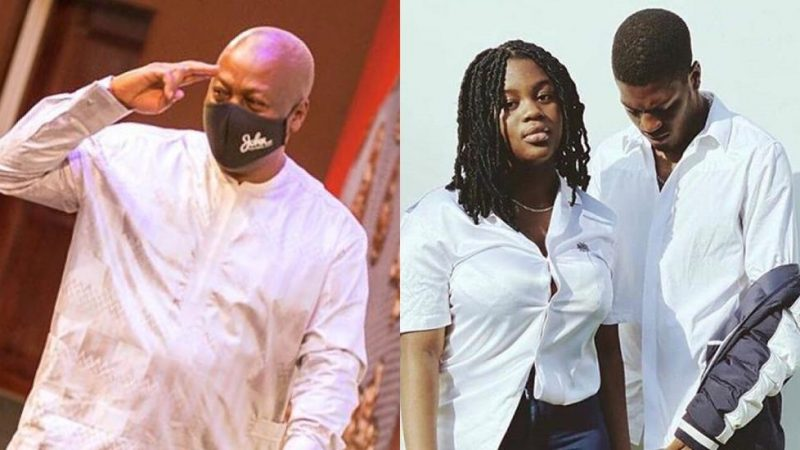 Drip Mode – Son And Daughter Of John Mahama Dripping In New Photo