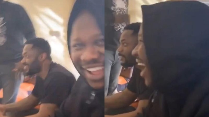 Medikal Laughs At Paedae After Winning Him In A Fifa Game And Chopping The Bet