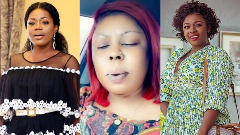 Afia Shwarzengger Teases Mzbel And Tracey With Her Prayer Request Of Also Meeting Her 'Papa Nu'
