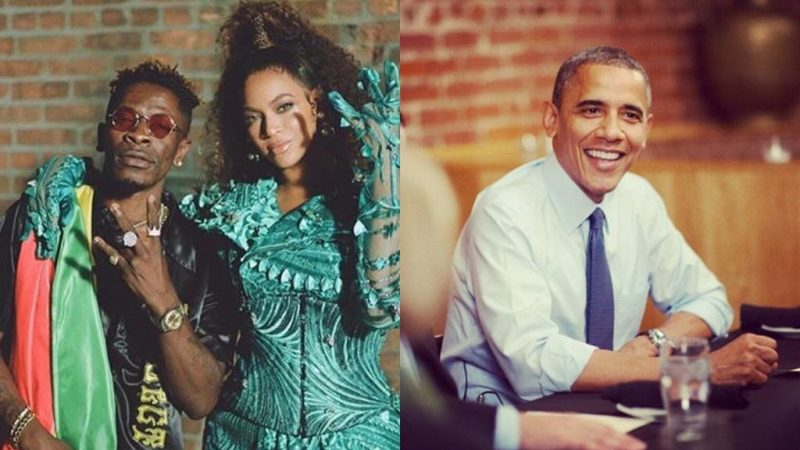 Obama Lists Shatta Wale And Beyonce's Already As One Of His Most Listened Songs This Summer