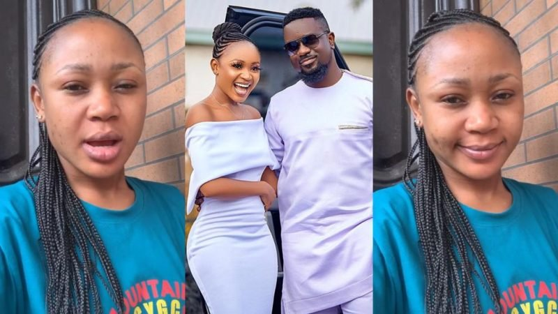 These Were The Words Of Akuapem Poloo After Sarkodie Came To Her Aid In Trying Times