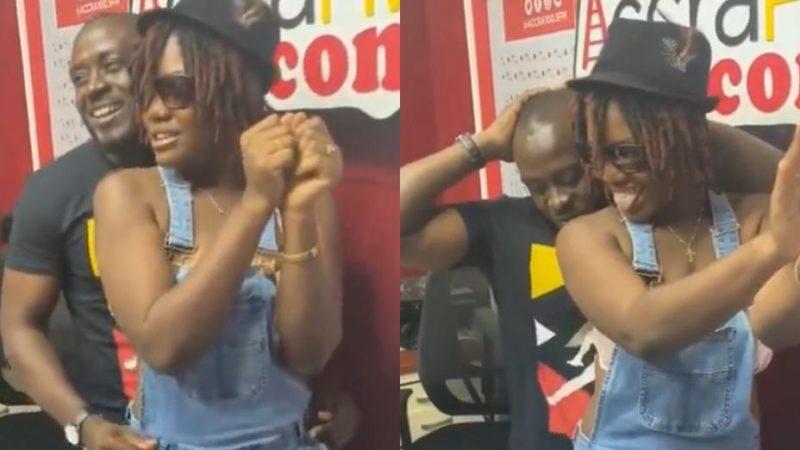 Nana Romeo Looses Control While Grinding MzBEL's Daughter's Back Side – Video