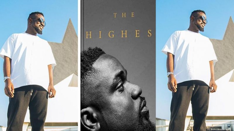 About That Time – Sarkodie Is Set To Release His First Book Titled, 'The Highest'