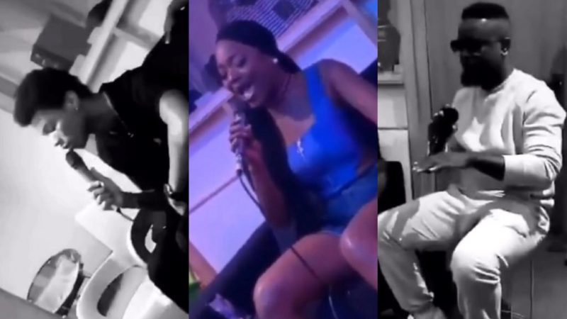 Efya And Kidi Sing For Heavens To Fall During Rehearsals Of Sarkodie's Upcoming Concert