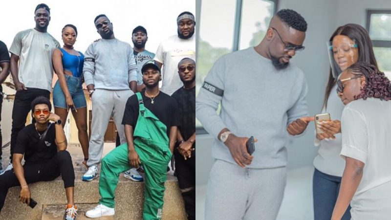 Photos From Sarkodie's 3rd Day Of Rehearsals With King Promise, Kidi, Efya And Others Ahead Of His Virtual Concert