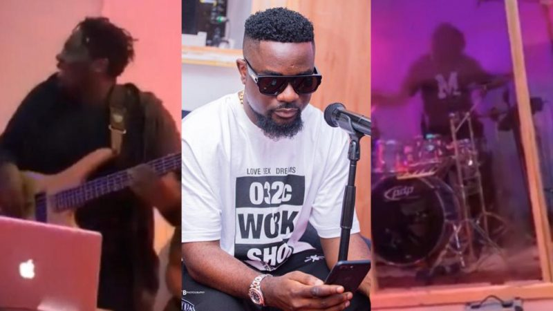Watch Sarkodie's First Rehearsals Ahead Of His Virtual Concert Which Was Full Of Work And Happiness