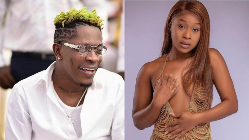 Efia Odo Makes Shatta Wale Fall In Love After Seeing Her Semi Nvde Photo