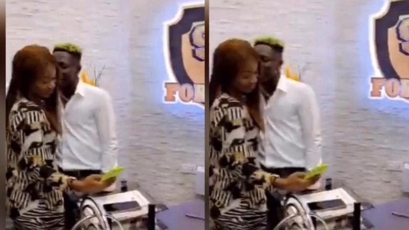 Efia Odo Admits Sleeping With Shatta Wale But Only At One Place – video