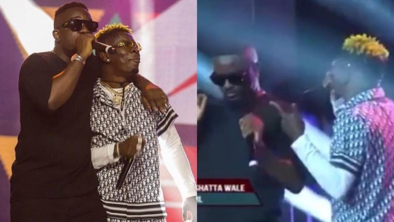 Sarkodie And Shatta Wale Give Fans An Epic Performance For The First Time After Their Beef