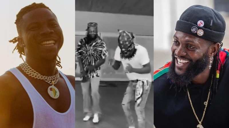 Stonebwoy Calls Adebayor 'A God' On Earth After Spending The Day With Him