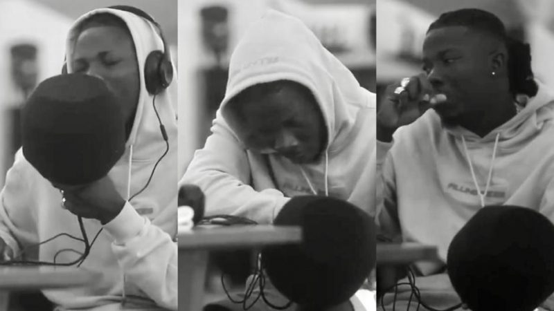 Have A Real Feel Of Stonebwoy Working In The Studio That Will Get You Glued To Your Phone (+video)