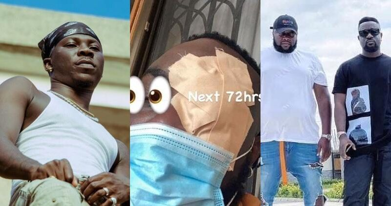 Video Showing How Stonebwoy Attacked Sarkodie's Manager With Guns Involved