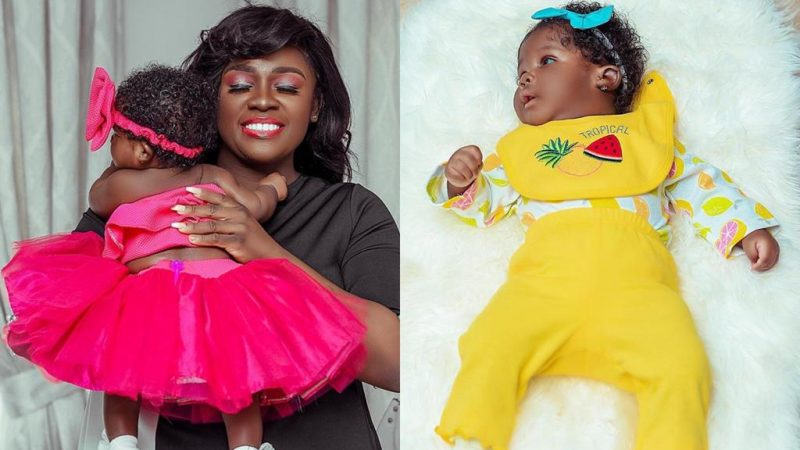 Social Media Users Begin To Compare After Tracey Boakye Showed Off Full Face Of Her Daughter (+photo)
