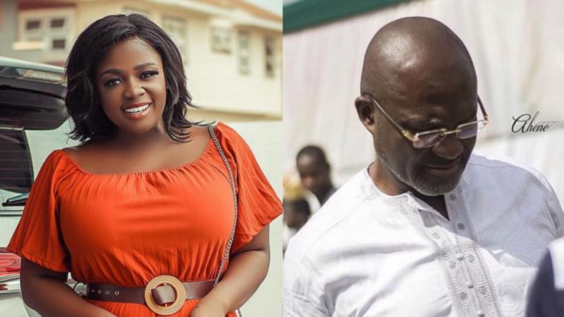 Tracey Boakye Apologizes To Kennedy Agyapong Because Of This