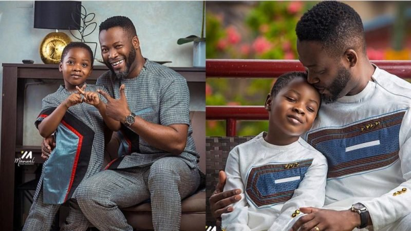 Samuel Adjetey Annan And Son Serve As Some Adorable Photos
