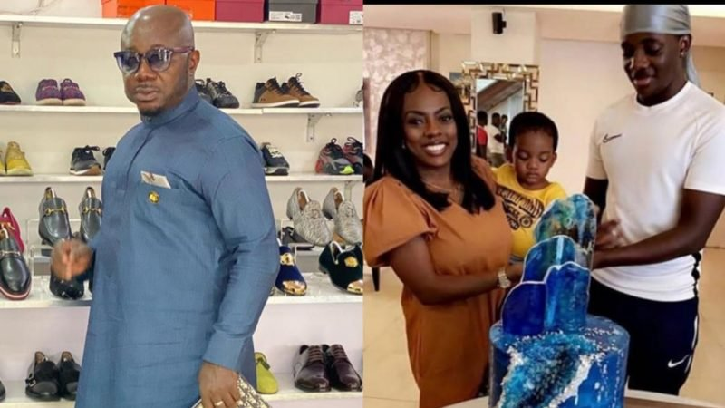 Osebo The Zara Man Sends A Peace and Love Message To Nana Aba Anamoah And Their Lovely Son